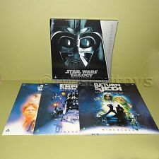 1997 LUCASFILM STAR WARS TRILOGY SPECIAL EDITION LASER DISC PAL BOX SET FIRST ED