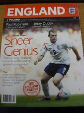 12/10/2005 England v Poland [At Manchester United] . Thanks for viewing our item