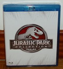 COLLECTION JURASSIC PARK+JURASSIC WORLD-4 BLU RAY-PARC