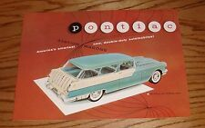 1955 Pontiac Station Wagon Sales Brochure 55 Safari