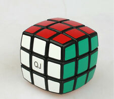 QJ Bread 3x3 Magic Cube 3x3x3 High Speed cube Stickers Toys Twist Black