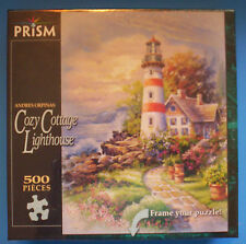 Andres Orpinas COZY COTTAGE LIGHTHOUSE 500 pc puzzle - Prism 2007