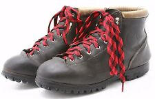 Vasque Mens Mountaineering Boots Size 10 Made in Italy Vintage Hiking Hiker