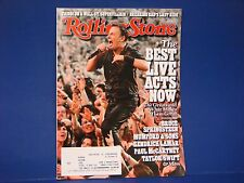 Rolling Stone Magazine,August 15, 2013, Bruce Springsteen Best Live Acts Now