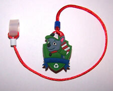 Children's Hearing Aid SAFTY LEASH RETAINER CLIP for 1 sided H.A.  DOGGIE