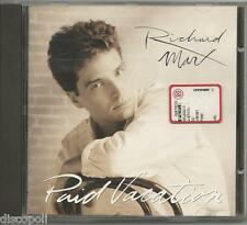 RICHARD MARX - Paid vacation - CD 1993  NEAR MINT CONDITION