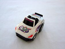Vintage Rare Toy Story Buzz Lightyear Racing Nano Pull Back Mini Racer