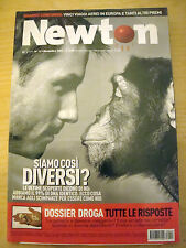 NEWTON OGGI N° 11 2003 UOMO SCIMPANZE QUALE DIFFERENZA?