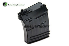 WE 21rds Airsoft Toy Gas Magazine For SVD ACE-VD Series GBB Black WE-MAG-037