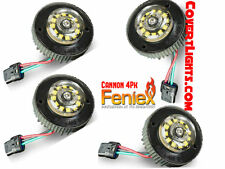 4 Pack Feniex Cannon New Hideaway LED strobe light SOLID AMBER