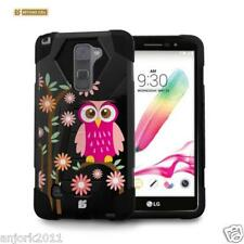 Daisy Owl Shockproof Case w/Stand Cover for LG Stylo 2 LS775 Stylus 2