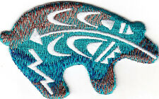 BEAR - SOUTHWEST -  ANIMALS - NATIVE AMERICAN - Iron On Embroidered Patch