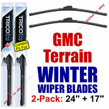 WINTER Wiper Blades 2-Pack Premium - fit 2010-2016 GMC Terrain - 35240/170