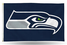 "Seattle Seahawks NFL Banner Flag 3' x 5' (36"" x 60"") ~ NEW"
