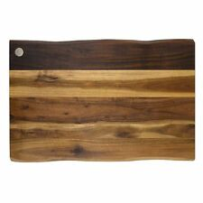 Gripper Natural Acacia wood non slip cutting chopping board 17x 11 paypal CNY17