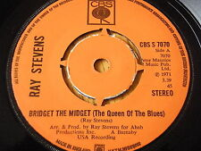 "RAY STEVENS - BRIDGET THE MIDGET (THE QUEEN OF THE BLUES)  7"" VINYL"