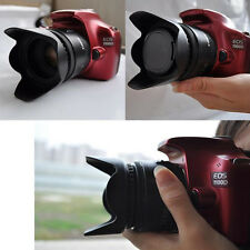 New 52mm Flower Petal Camera Lens Hood for Nikon Canon Sony 52mm Lens Camera #L