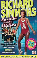 Richard Simmons - Sweatin to the Oldies Set (DVD, 5-Disc Set)
