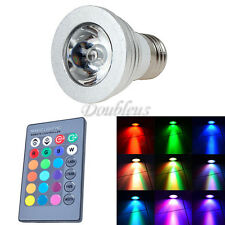 9W E27 Color LED RGB Magic Light Bulb 16 Colors Changing With Wireless Remote