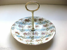 Vtg. Mount Vernon Candy Dish With Handle By Andrea By Sadek