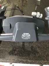CH products flight sim yoke ,with Pro Pedals