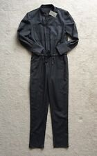 NEW  $298 Jcrew COLLECTION Womens 4P Italian Wool Jumpsuit Gray Light-Mid Weight
