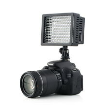 160 LED Studio Video Light for Canon Nikon DSLR Camera DV Camcorder New