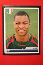 PANINI CHAMPIONS LEAGUE 2006/07 # 108 AC MILAN DIDA BLACK BACK MINT!