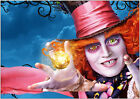 Alice in Wonderland The Mad Hatter Johnny Depp Art Large Poster Prints