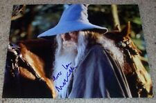 IAN MCKELLEN SIGNED AUTOGRAPH THE LORD OF THE RINGS 8x10 PHOTO w/EXACT PROOF
