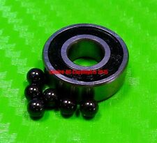 [QTY 4] (10x19x5 mm) S6800-2RS Stainless HYBRID CERAMIC Ball Bearings BLK 6800RS