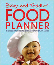 BABY AND TODDLER FOOD PLANNER New Book Eating Guide Hardback 2012 Free Shipping