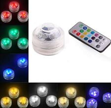 NEW Swimming Pool Spa Bath LED Light Remote Waterproof Underwater Battery