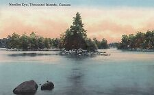 Needles Eye 1000 ISLANDS Ontario Canada 1907-15 C.T. St Lawrence River Series PC