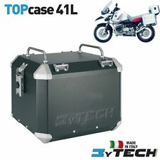TOP CASE ALLUMINIO 41 L CON PORTAPACCHI BMW R 1150 R GS ADVENTURE '02/'05 MYTECH