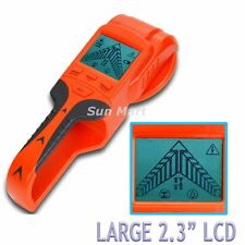 Wood Stud Metal Voltage AC Live Cable Wire Detector Finder Tester Scanner Wall