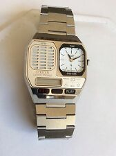 VTG cool Retro Spy inspired style Citizen multi function Voice Memo wrist Watch
