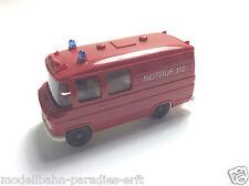 """Wiking Mercedes Benz MB Transporter 27 - Feuerwehr """"Notruf 112"""" (JF 286)"""