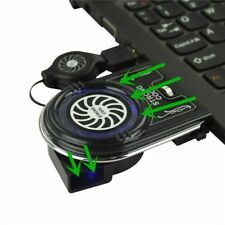 New Mini Vacuum USB Cooler Air Extracting Cooling Pad Fan for Notebook Laptop D