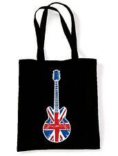 UNION JACK GUITAR  SHOULDER BAG - Britpop Noel Gallagher Epiphone Mod Target