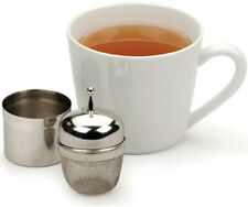 RSVP Stainless Steel Floating Tea Infuser with Caddy