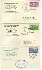 1954 1960 Welcome To Norfolk - Italy Holland Canada - various US Navy xcls