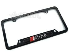 Standart License Plates For Audi Sline Frames with S Line Logo USA Model