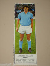 *+ ANTONIO JULIANO NAPOLI=FIGURINA=1966/67=ALBUM FIGURINE CALCIATORI TEMPO