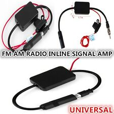NEW TRUCK STEREO ANTENNA FM AM RADIO INLINE SIGNAL AMP AMPLIFIER BOOSTER 12V