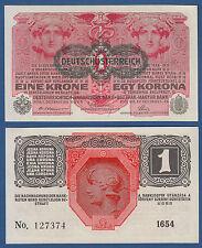 Austria/Austria corona 1 1916 (1919) p.49 UNC