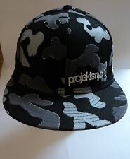 PROJEKTS NYC BLACK W/ GREY 59FIFTY NEW ERA CAP SIZE 6 7/8 - 54.9CM BRAND NEW