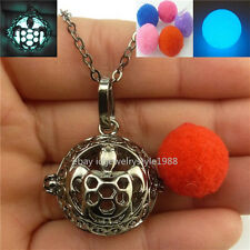 Black Turtle Essential Oil Perfume Glow in the Dark Tortoise Locket Necklace New