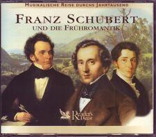 Franz Schubert  und die Frühromantik  -  Reader's Digest   3 CD Box