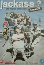 JACKASS - The Movie Collection (DVD, 4-Disc Set) . FREE UK P+P .................